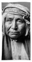 Apache Man, C1906 Hand Towel
