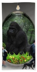 Ape Gorilla Art Hand Towel