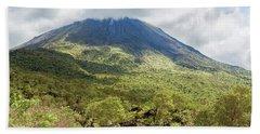 Arenal Volcano, Costa Rica Bath Towel