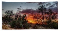 Arizona Sunset Bath Towel