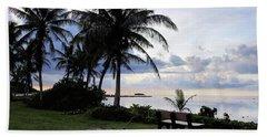 Asan Beach Guam Hand Towel