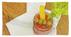 Bloody Mary Hand Towel
