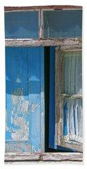 Blue Window Bath Towel