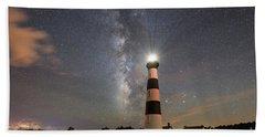 Bodie Island Light Milky Way Bath Towel
