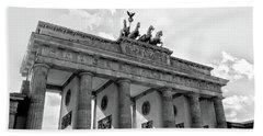 Brandenburg Gate - Berlin Hand Towel