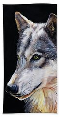 Brother Wolf Hand Towel
