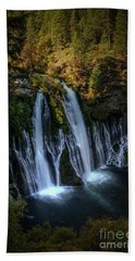 Burney Falls Hand Towel by Kelly Wade