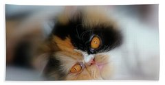 Cali Eyes Bath Towel