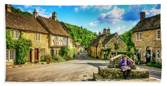 Castle Combe Village, Uk Bath Towel