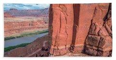 Chicken Corner Trail And Colorado River Hand Towel