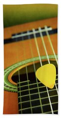 Bath Towel featuring the photograph Classic Guitar  by Carlos Caetano