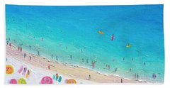 Colors Of The Beach Hand Towel by Jan Matson