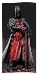 Crusader Warrior Hand Towel