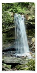 Cucumber Falls Pennsylvania Bath Towel