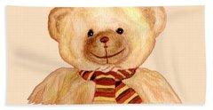 Cuddly Bear Hand Towel