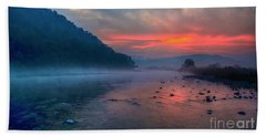 Bath Towel featuring the photograph Dawn by Pravine Chester