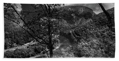 Hand Towel featuring the photograph Delaware Water Gap by Raymond Salani III