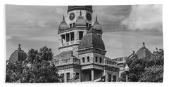 Denton County Courthouse Hand Towel