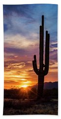 Hand Towel featuring the photograph Desert Beauty  by Saija Lehtonen