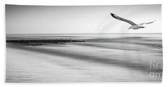 Desire Light Bw Hand Towel by Hannes Cmarits