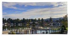Devils Lake Oregon Bath Towel