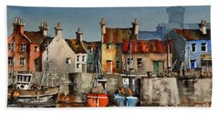 Dingle Harbour, Kerry Bath Towel