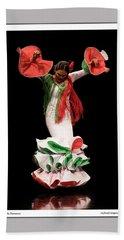 Duende Flamenco Hand Towel