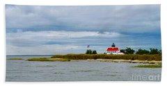 East Point Lighthouse Bath Towel