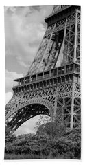 Eiffel Tower Hand Towel by Ivete Basso Photography