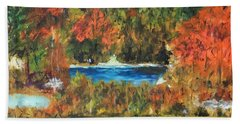 Fall In The Adirondacks Bath Towel