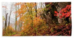 Fall Landscape Bath Towel