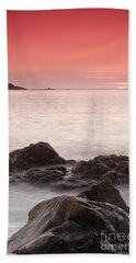 Fine Art- St Ives At Sunset By Phill Potter Bath Towel
