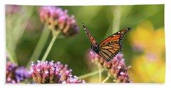 Flight Of The Monarch 1 Hand Towel