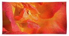 Floribunda Hand Towel by Denis Lemay