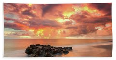 Florida Sunrise Hand Towel