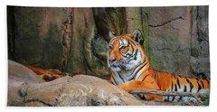 Fort Worth Zoo Tiger Bath Towel