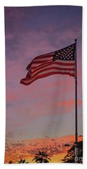 Freedom Hand Towel by Robert Bales