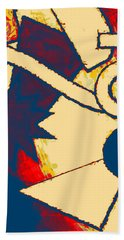 Funky Fanfare Hand Towel by Kyle West