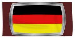 Germany Flag Hand Towel