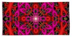 Bath Towel featuring the digital art Glimmer Of Hope by Robert Orinski