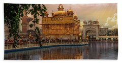 Golden Temple  Hand Towel