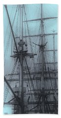 Hand Towel featuring the photograph Gorch Fock ... by Juergen Weiss