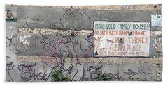 Graffiti Hand Towel