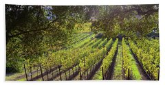 Grapevines In The Fall Bath Towel