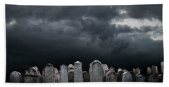 Graveyard Bath Towel