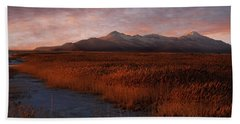 Great Salt Lake Bath Towel by Utah Images
