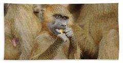 Guinea Baboons Bath Towel