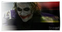 Heath Ledger Hand Towel by Marvin Blaine