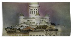 Helsinki Cathedral Bath Towel