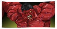 Hulk Bath Towel